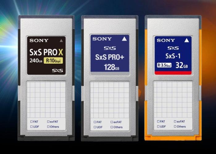 Sony SxS card reader