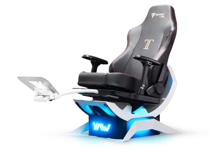Yaw2 motion simulation chair