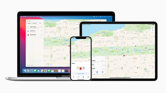 Apple Find My network accessory program