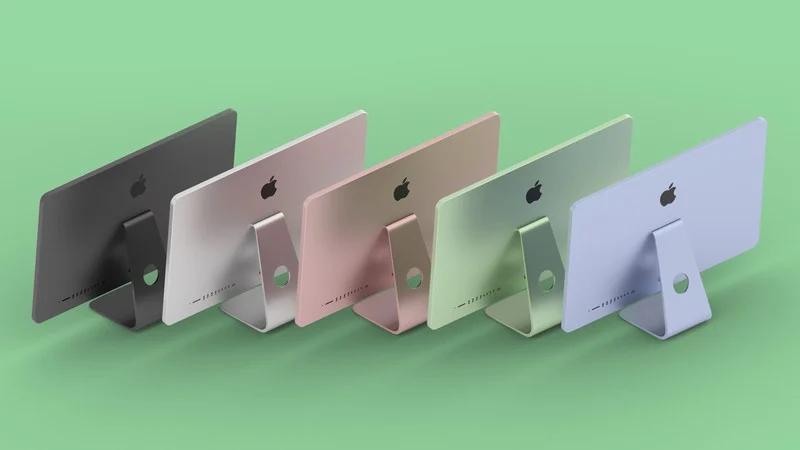 colorful iMacs
