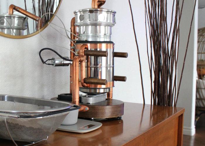 home coffee roaster