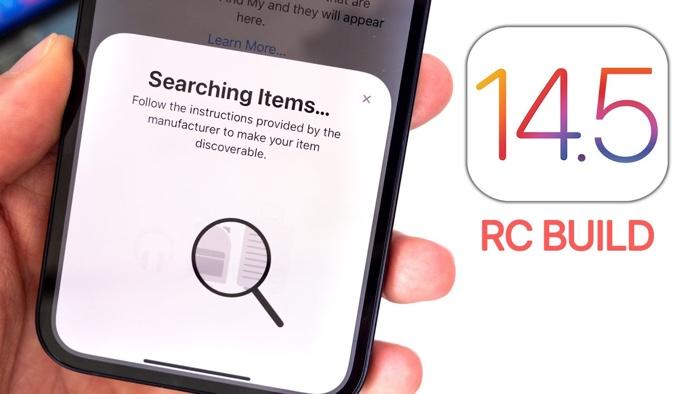 iOS 14.5 RC