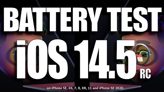 iOS 14.5 battery life