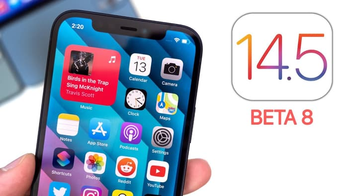 iOS 14.5 beta 8