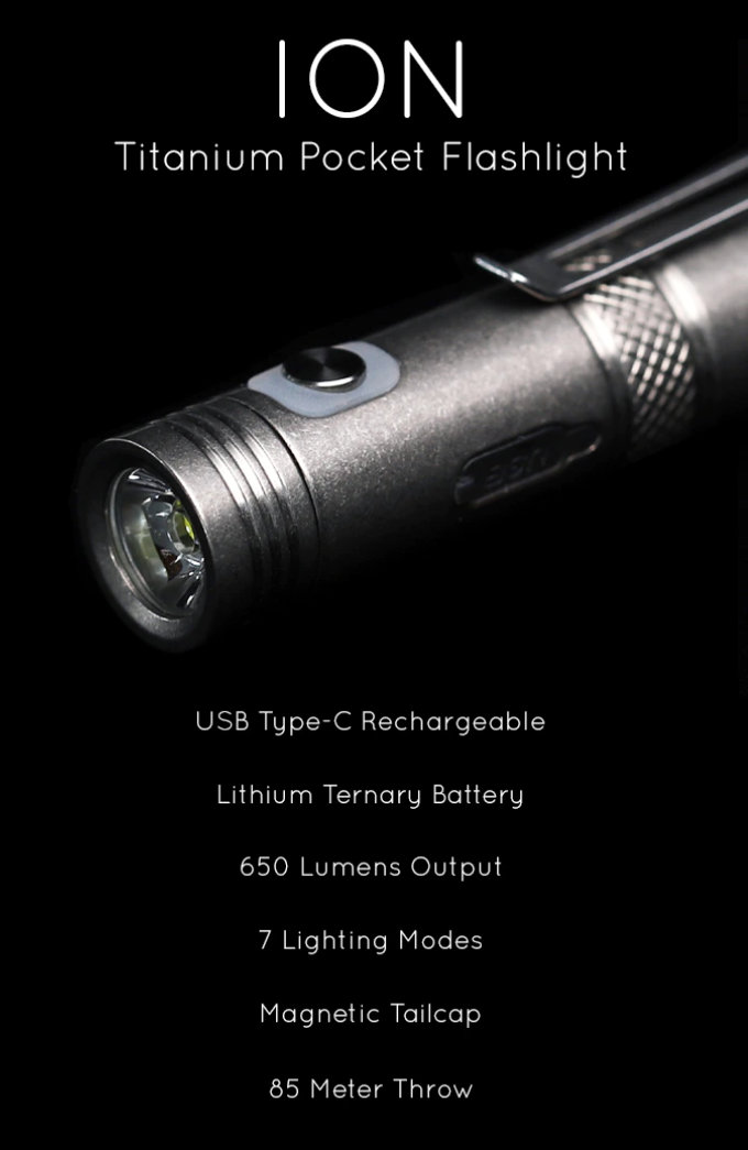 pocket flashlight