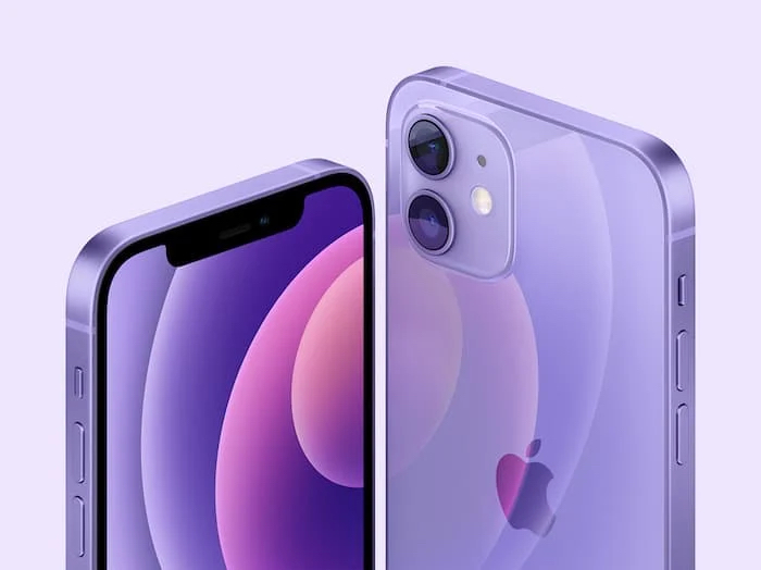 Puple iPhone 12
