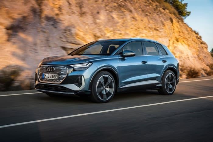 Audi Q4 e-tron and Q4 e-tron