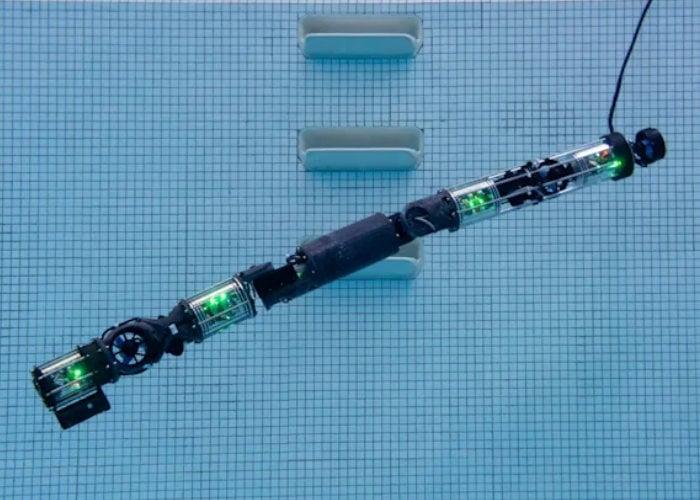 submersible robot snake