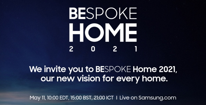 Samsung Bespoke Home event