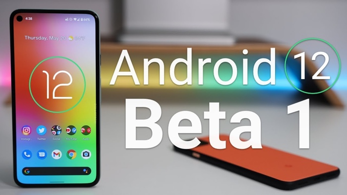 Android 12 beta 1