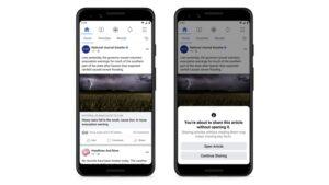Facebook read articles