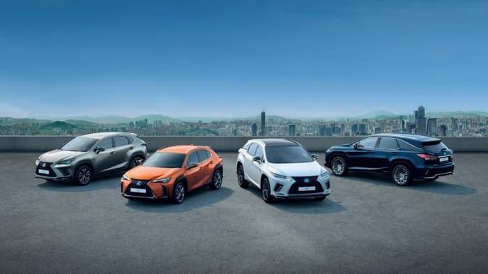 Lexus electrified vehicles