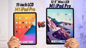 M1 iPad Pro 11 vs iPad Pro 12.9