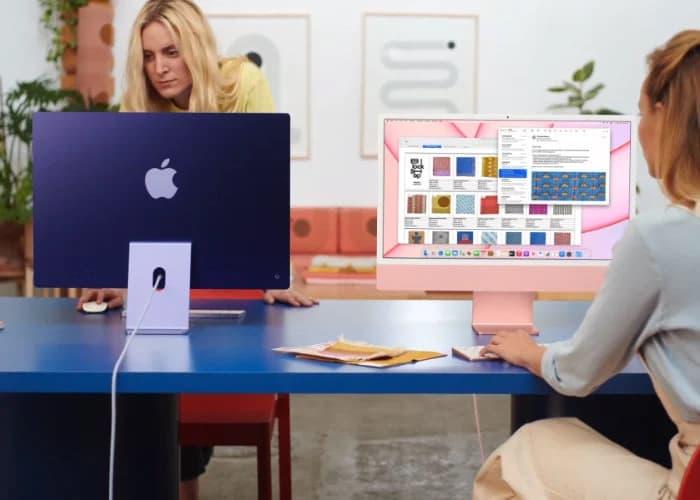 m1 powered Apple iMac