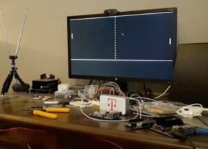 Raspberry Pi Pico pong