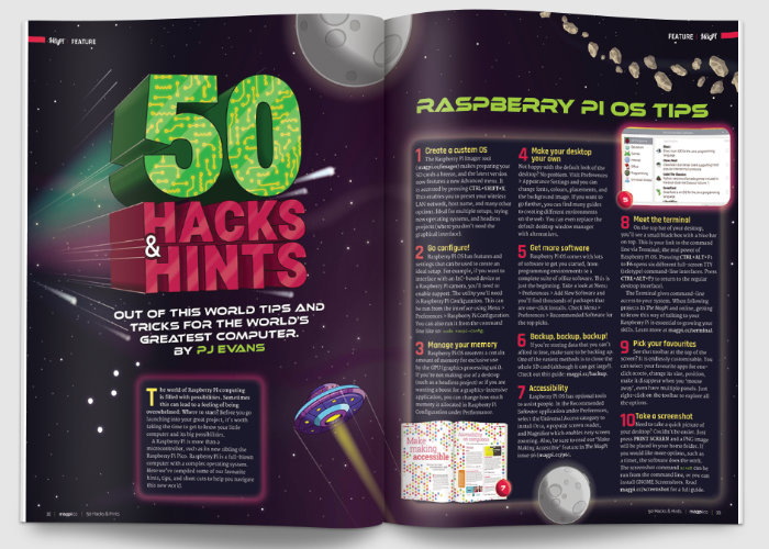 Raspberry Pi hacks and hints