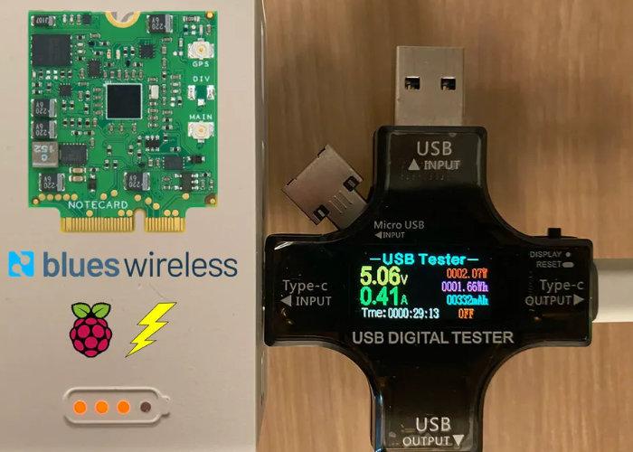 Raspberry Pi power consumption