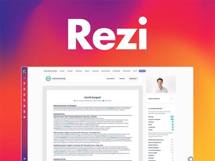 Rezi Résumé Software