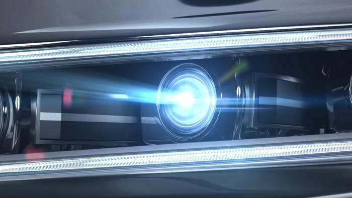 Samsung PixCell LED car headlights