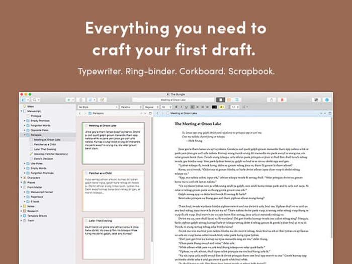 Scrivener 3 for Mac
