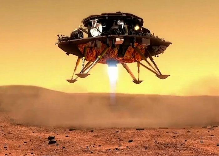 Tianwen 1 Mars rover