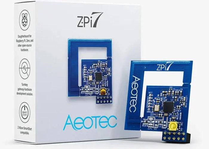 Z-Pi 7 Z-Wave gateway devkit
