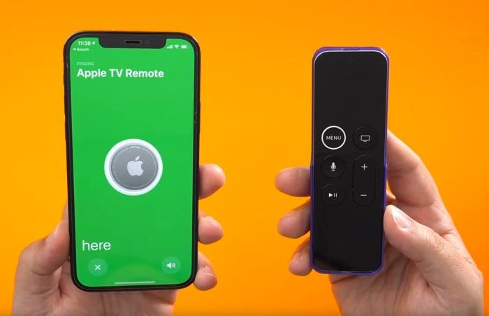 3D printed Apple TV Remote AirTag