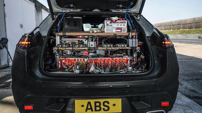 electric Porsche Macan