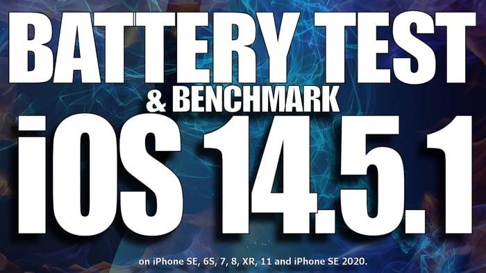 iOS 14.5.1 battery life