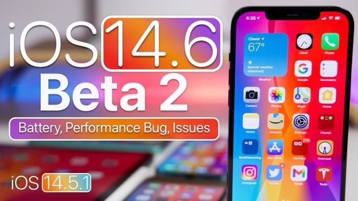 iOS 14.6 Beta 2 and iOS 14.5.1