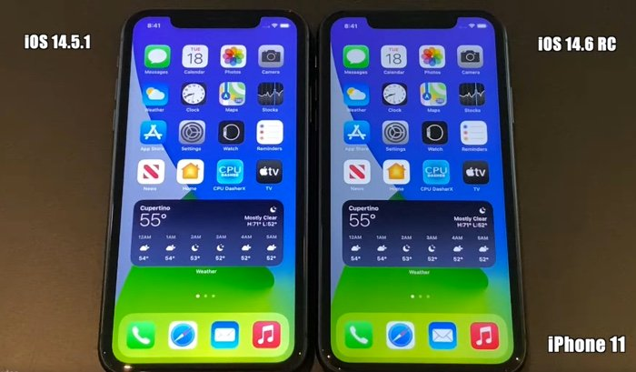 iOS 14.6 Release Candidate vs iOS 14.5.1