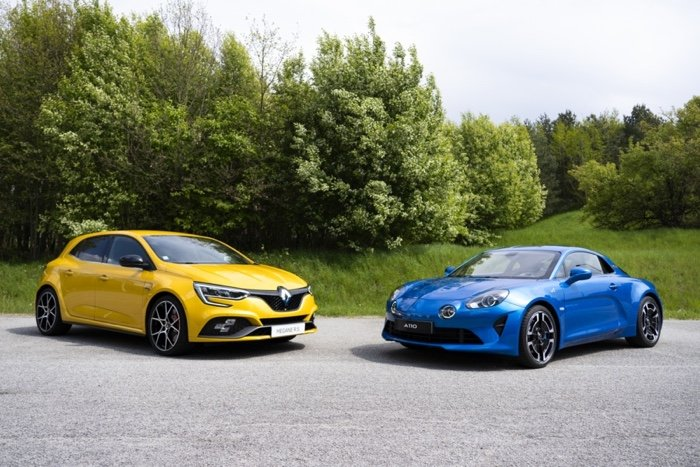 Renault Sports cars
