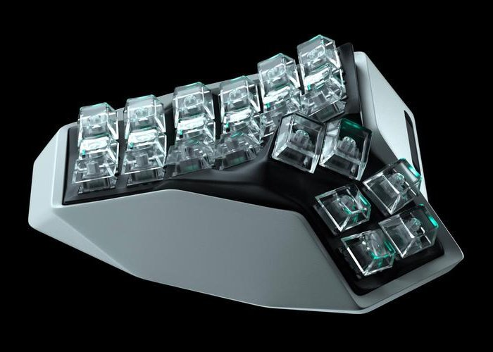 split wireless keyboard