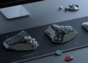 wireless split keyboard