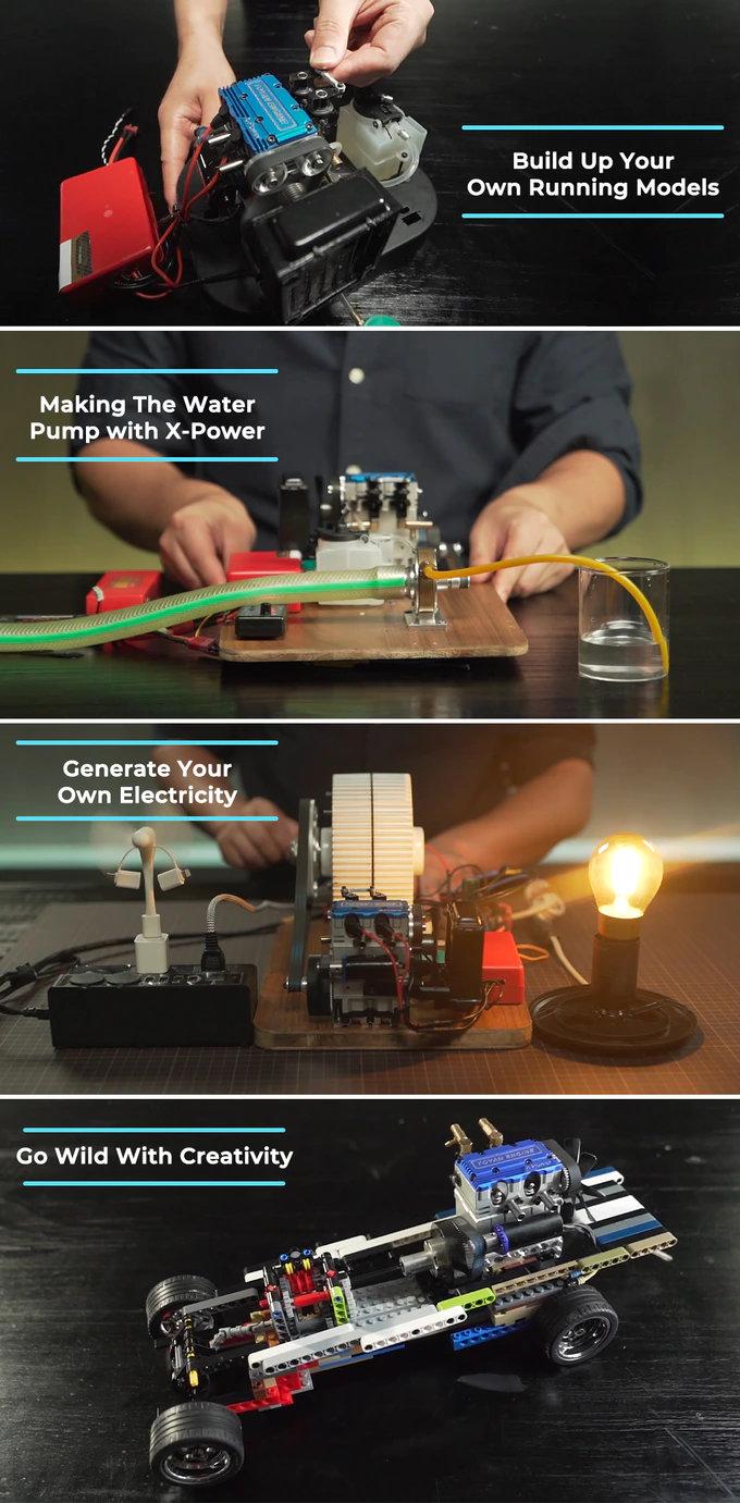 4 Stroke model engine kit