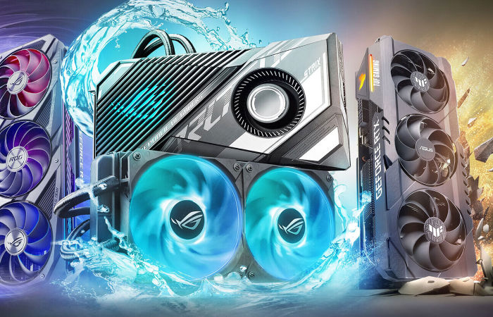 ASUS GeForce RTX 3080 Ti and RTX 3070 Ti ROG Strix and TUF graphics cards unveiled