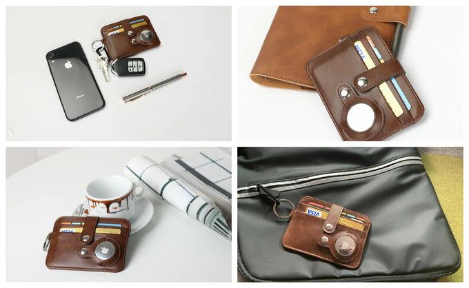 Apple AirTag wallet Kickstarter