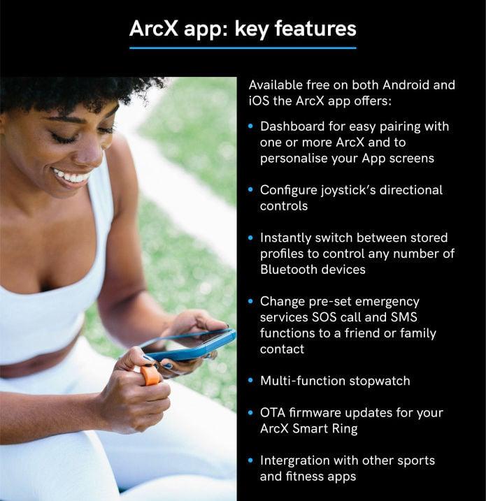 ArcX smart ring