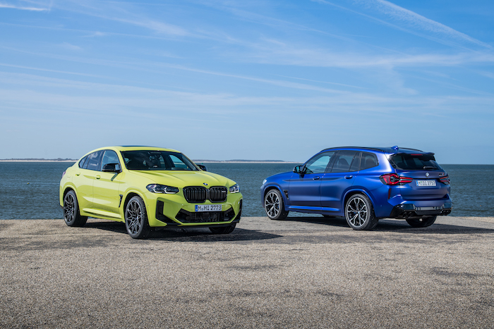BMW X3 M Competition and BMW X4 M Competition