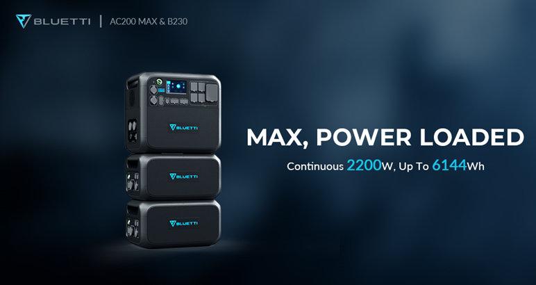 Bluetti AC200 Max Power Load