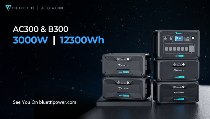 Bluetti AC300 power station Max Power Load