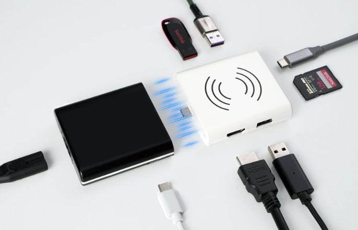 Combohub laptop hub