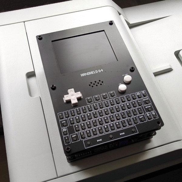 Commodore 64 Game Boy handheld