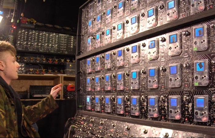 Gameboy Megamachine synthesiser