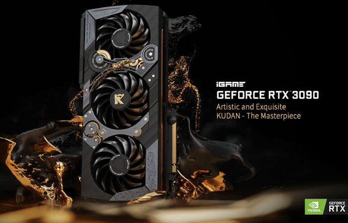GeForce RTX 3090 KUDAN Graphics Card