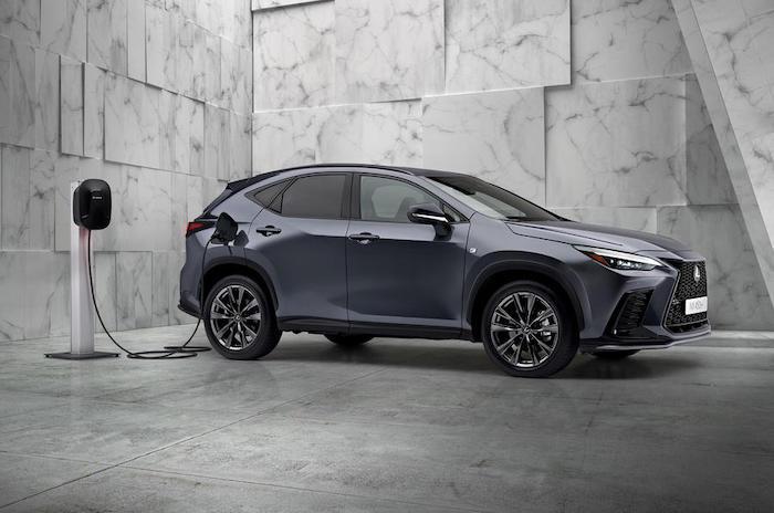 Lexus NX plug-in hybrid