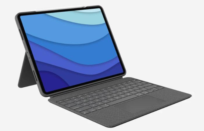 Logitech iPad keyboard tablet case