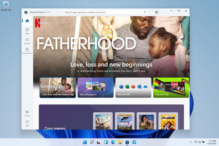 New Windows 11 Store