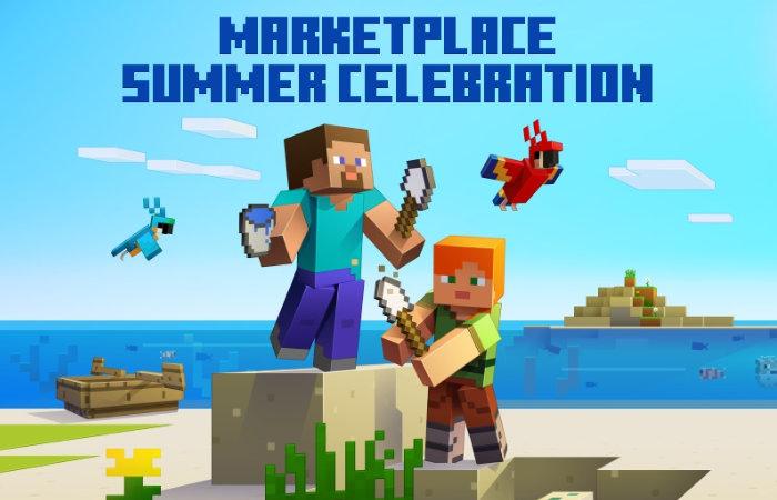 Minecraft Marketplace summer sale