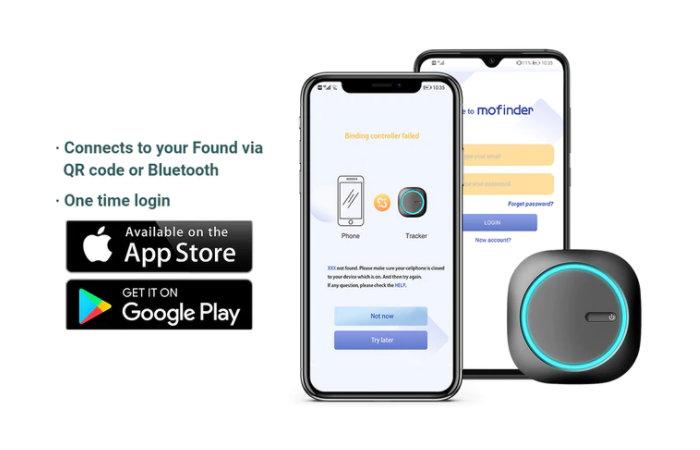 MoFinderX1 phone application